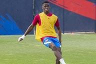 Ilaix Moriba selected for pre-season with Barcelona B as contract standoff continues