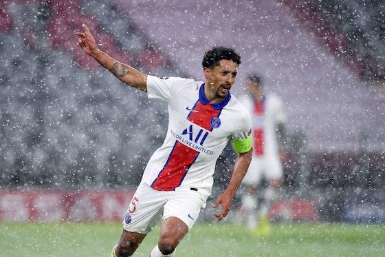 Article image: https://image-service.onefootball.com/crop/face?h=810&image=https%3A%2F%2Ficdn.psgtalk.com%2Fwp-content%2Fuploads%2F2021%2F04%2FMarquinhos-celebration-Bayern-Munich-vs-PSG-Champions-League-2021.jpg&q=25&w=1080