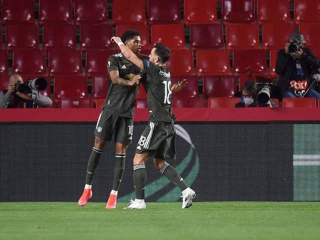 Manchester United squad v Granada includes Rashford ahead of milestone appearance