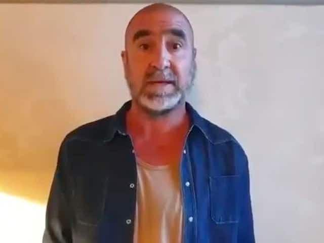 (Video) Man Utd icon Eric Cantona passionately speaks out against European Super League
