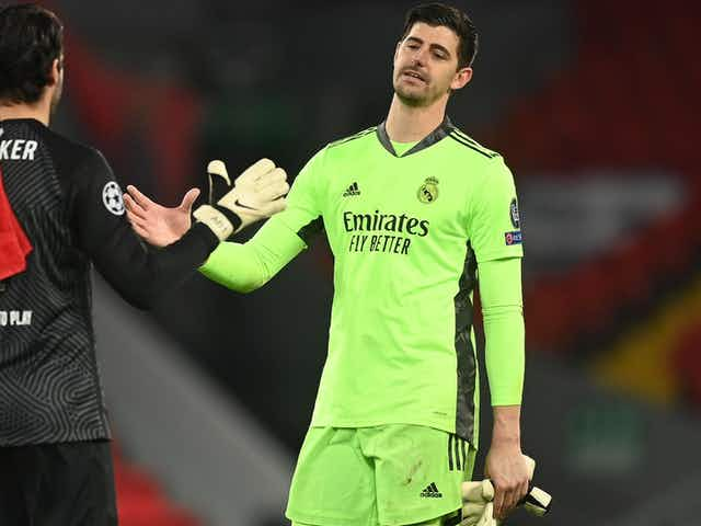Courtois anticipates 'special' Chelsea reunion in Champions League semis