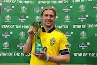 Andersson hails 'calmer' Forsberg after brace sends Sweden through