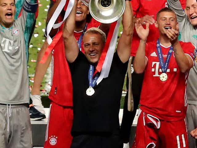 Bayern Munich move to within one win of ninth-straight Bundesliga title