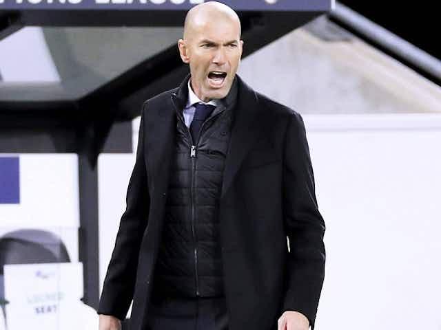 Real Madrid coach Zidane pleased with Getafe draw