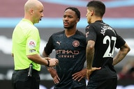 Watch: Man City goalscorer Sterling 'will I watch Man Utd today?'