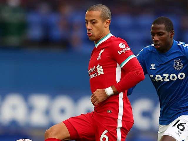 Liverpool midfielder Thiago Alcantara admits enduring 'tough' transition at Anfield