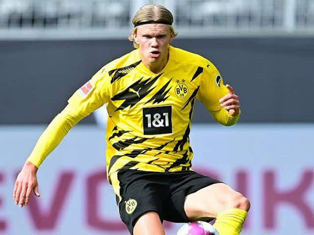 Raiola insists 'no war with BVB' over Haaland amid Man Utd, Man City interest