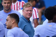 Barcelona coach Koeman holds transfer summit with directors