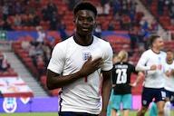 Watch: Arsenal whiz Saka hails England triumph 'great to play with Grealish'