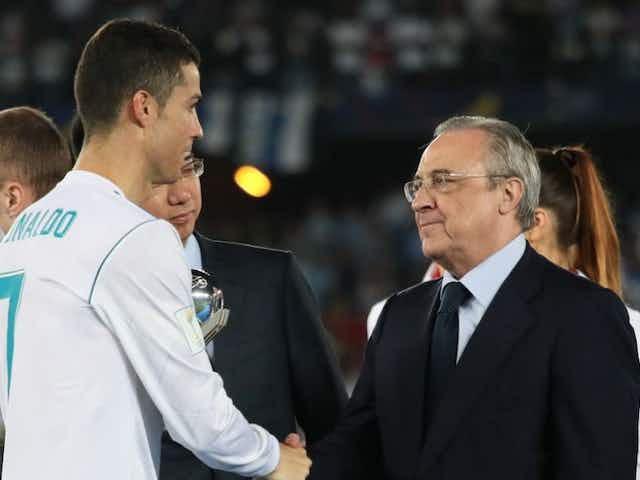 Florentino Pérez habló del regreso de Cristiano Ronaldo al Real Madrid