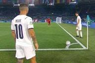 Euro 2020: Italy's bizarre corner during 3-0 win vs Turkey