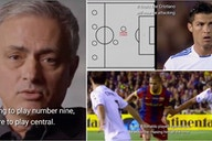 Cristiano Ronaldo: Video of Jose Mourinho turning Real Madrid icon into a striker vs Barca