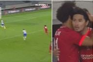 Liverpool vs Hertha Berlin: Mohamed Salah produces brilliant assist for Minamino's goal
