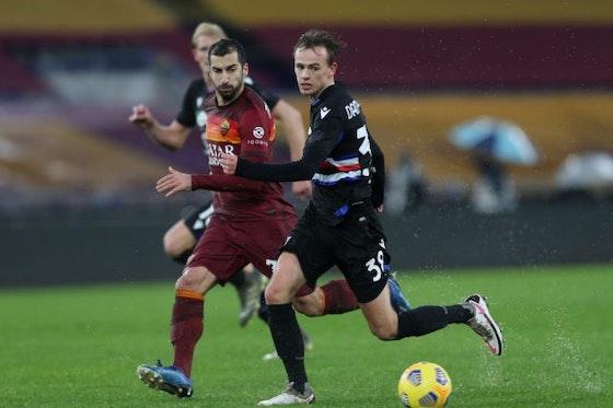 Article image: https://image-service.onefootball.com/crop/face?h=810&image=https%3A%2F%2Fsportslens.com%2Fwp-content%2Fuploads%2F2021%2F01%2Fas-roma-v-uc-sampdoria-serie-a-e1611669318706.jpg&q=25&w=1080