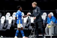 Tottenham fans react to Tariq Lamptey transfer link