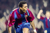 Patrick Kluivert's best goals in a Barcelona shirt