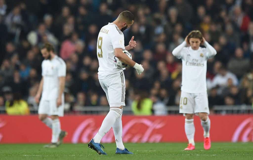 Zinedine Zidane Defends Team Selection After Shock Copa Del Rey