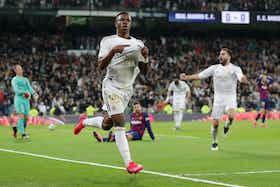 Article image: https://image-service.onefootball.com/resize?fit=max&h=721&image=https%3A%2F%2Fwp-images.onefootball.com%2Fwp-content%2Fuploads%2Fsites%2F10%2F2020%2F03%2FReal-Madrid-CF-v-FC-Barcelona-La-Liga-1584051337.jpg&q=25&w=1080
