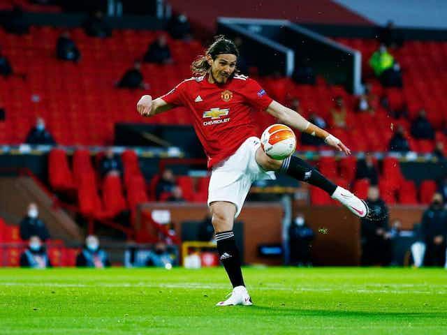 Edinson Cavani scores early to hit European football milestone 🇺🇾