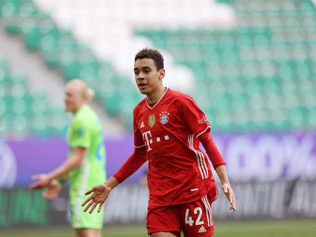 Jamal Musiala makes a piece of Bundesliga history 👶