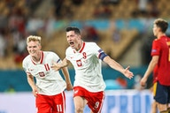 🏆 Lewandowski stuns Spain; Germany blitz Portugal; France held