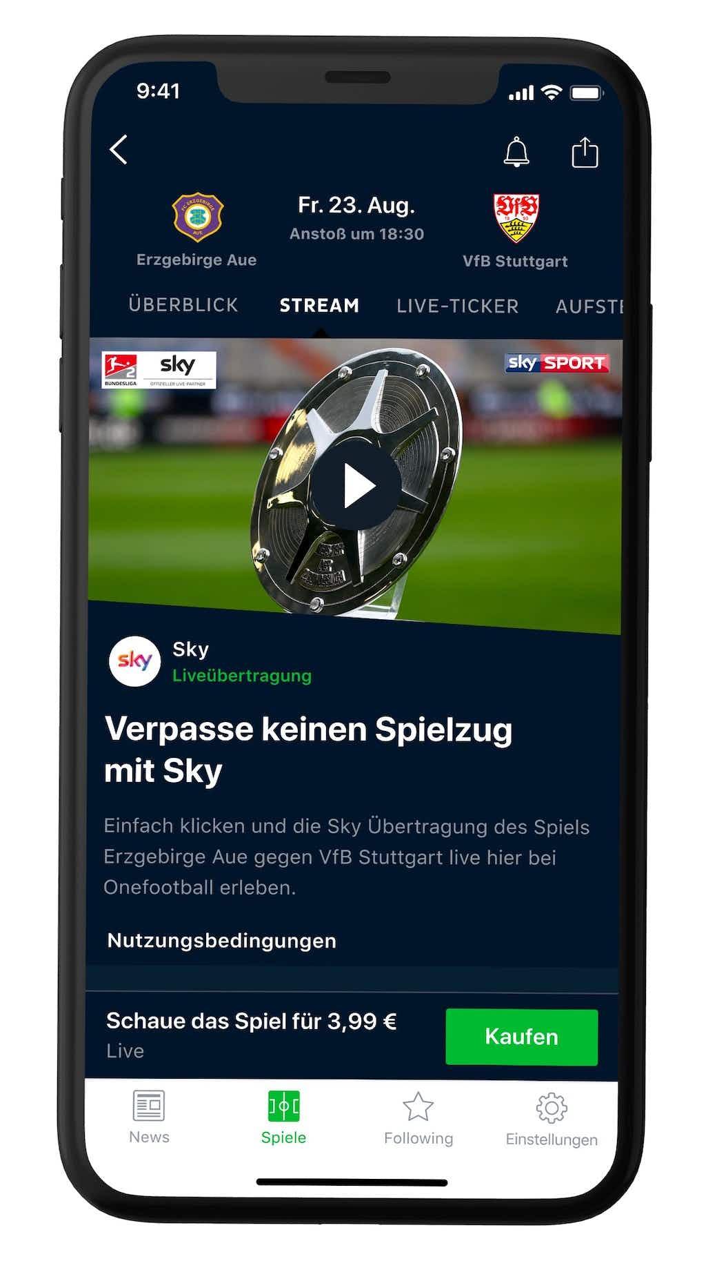 Ab Sofort Sky Zeigt Alle Spiele Der 2 Liga Live Bei