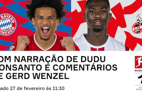 Imagem do artigo: https://image-service.onefootball.com/resize?fit=max&h=608&image=https%3A%2F%2Fwp-images.onefootball.com%2Fwp-content%2Fuploads%2Fsites%2F13%2F2021%2F02%2FBayern-v-Ko%25CC%2588ln-twitter-Portuguese.png&q=25&w=1080