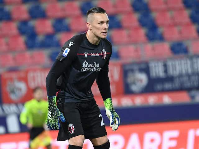 100 Rossoblù appearances for Lukasz Skorupski