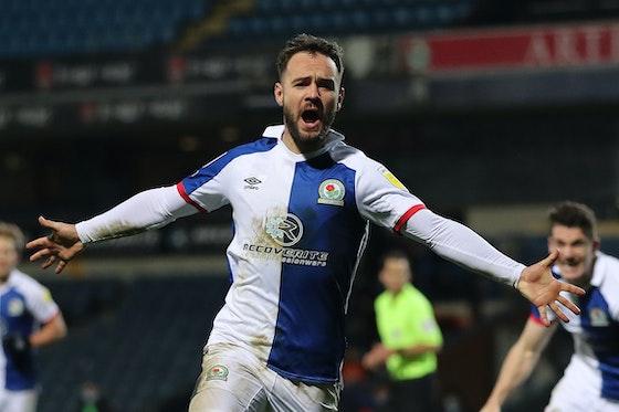Article image: https://image-service.onefootball.com/crop/face?h=810&image=https%3A%2F%2Fwww.footballfancast.com%2Fwp-content%2Fuploads%2F2021%2F04%2FBlackburn-Rovers-Adam-Armstrong-celebrates-scoring-v-Rotherham-United.jpeg&q=25&w=1080