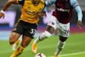 Article image: https://image-service.onefootball.com/resize?fit=max&h=1080&image=https%3A%2F%2Fwww.footballfancast.com%2Fwp-content%2Fuploads%2F2021%2F07%2Fwest-ham-defender-arthur-masuaku-battles-wolves-winger-adama-traore-in-premier-league-clash-e1626341803384-100x100.jpg&q=25&w=1080