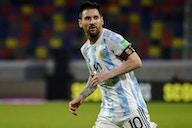 Messi lidera la posible oncena titular de Argentina ante Chile